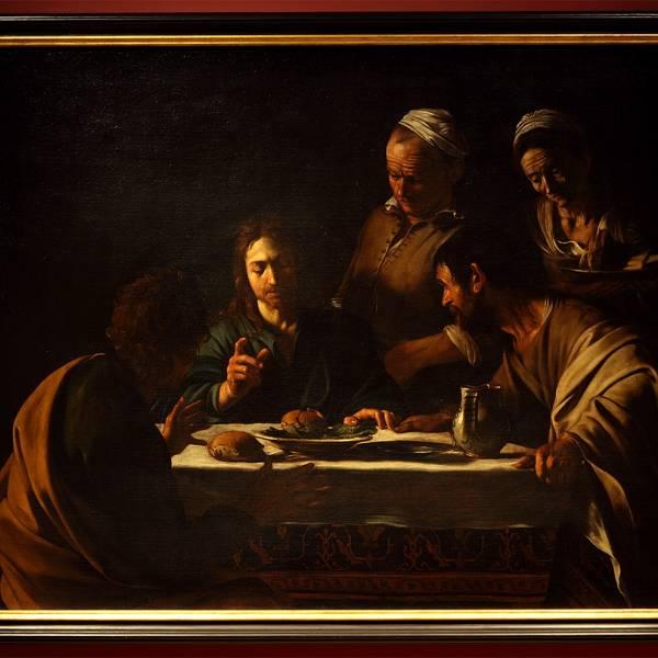 "Izložba Caravaggio ""Večera u Emausu"""